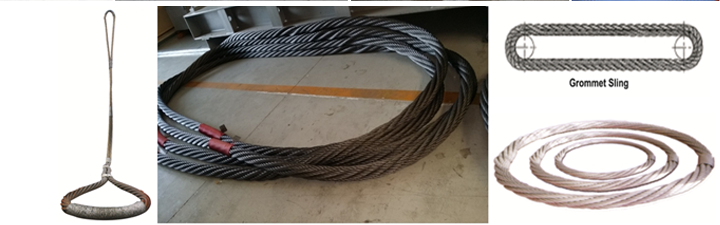 Steel Wire Rope Slings | Al Manar Eastern Factory